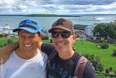 Paul and his good buddy Matt