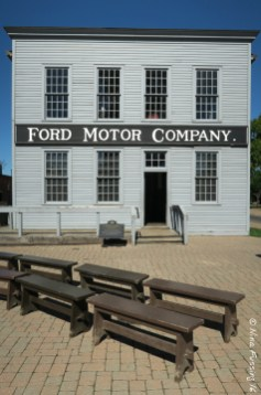 The Ford Motor Building at Greenfield