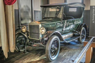 The iconic Model T