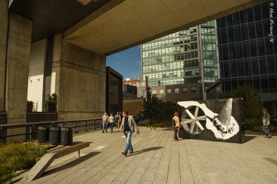 The Highline combines architecture and art