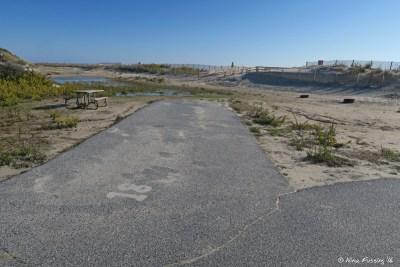 """View of """"corner"""" site in D loop. This is D18"""