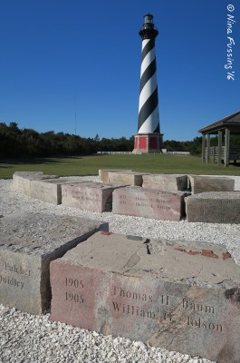 The gorgeous Hatteras Light