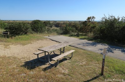More views of the top-tier sites in P Loop. This is P57 which has an awesome view of the dunes/ocean