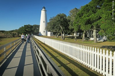 Pretty Ocracoke Light
