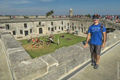 We never planned this stop. Castillo De San Marcos
