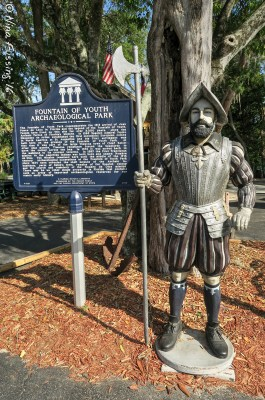 Ponce De Leon first landed here in 1513