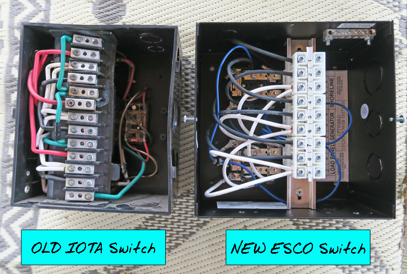 RV Electrical Fire (Almost!)-> Our Automatic Transfer Switch Failure ...