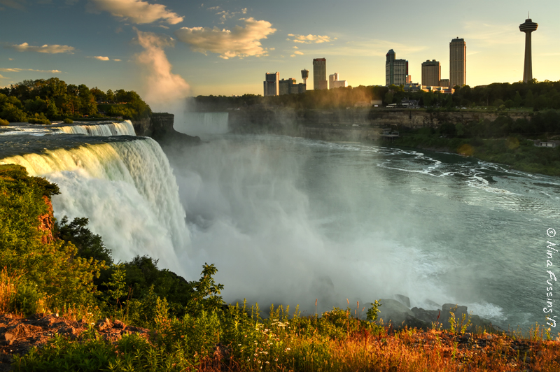 Niagara falls glory holes