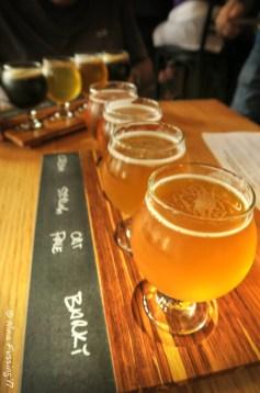 Silver Lake Brewing tasters