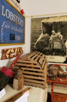 Inside Boothbay Historical Society