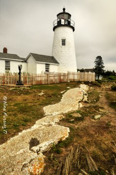 Gorgeous Pemaquid Point Lighthouse