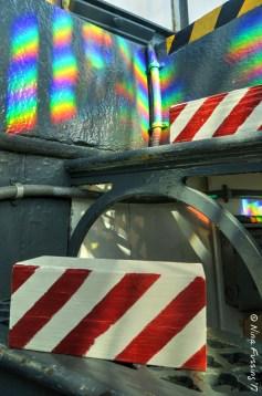 Fresnel lens rainbows