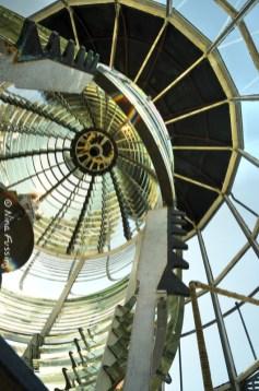 Inside the Fresnel lens