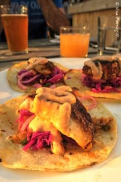 The fish tacos at Rhumb Line....YUM!