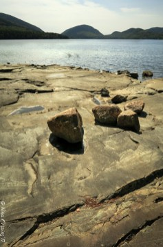 Carriage trail rocks