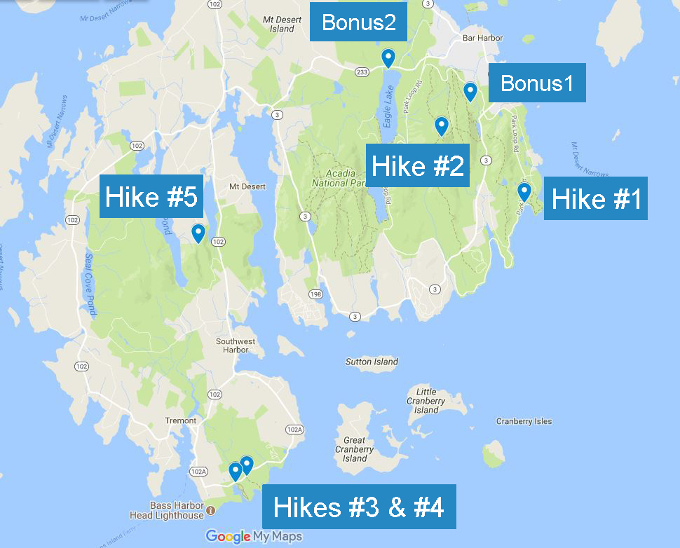 Acadia National Park Part II 5 Easy And Crazy Scenic Hikes