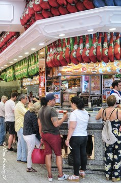 Museo Del Jamon is always packed