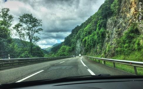 I drove some beautiful roads in Spain