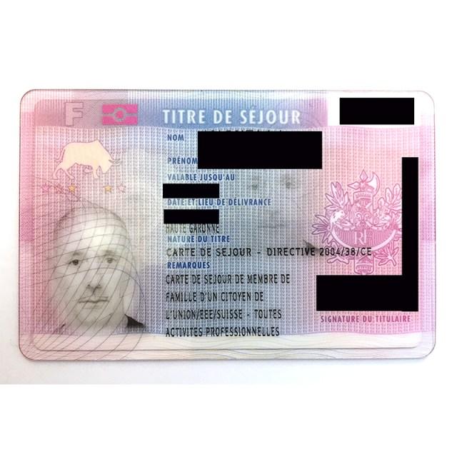 Getting A Carte De Séjour In France (As The Spouse of An EU