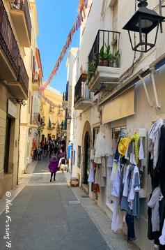 Sitges alleyways
