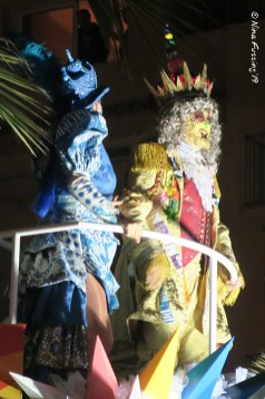 King and Queen dance at night