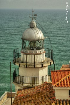 The lighthouse tower