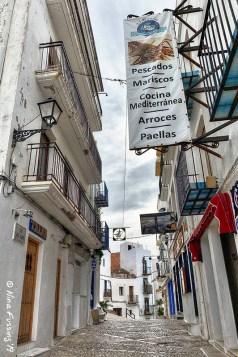Old town alleyways