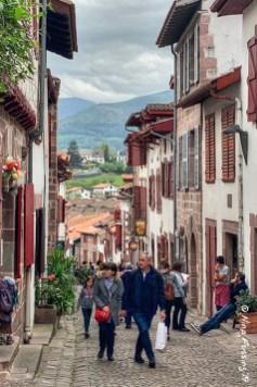 Downtown has steep, narrow streets