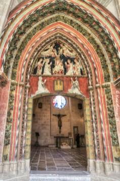 Entrance of the Chapel of Santa Catalina