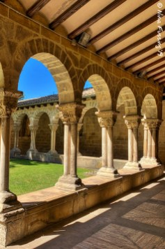 The cloister of Iglesia San Pedro de la Rúa