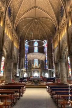 The altar in the Church of Santa Maria