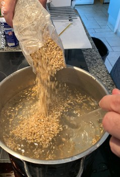 Making the mash