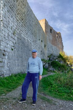 Dad by the North wall