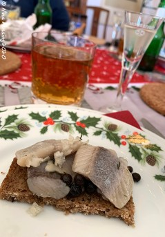 Pickled herring, beer & snaps