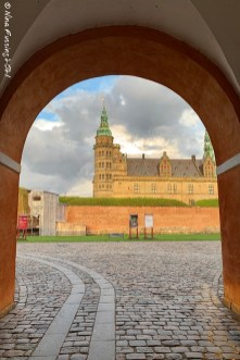 Kronborg viewed from the grounds