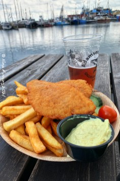 Fish & chips (and beer!)