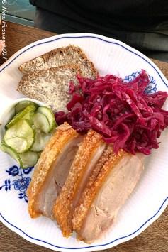 Flæskesteg (pork roast) at Sankt Peder