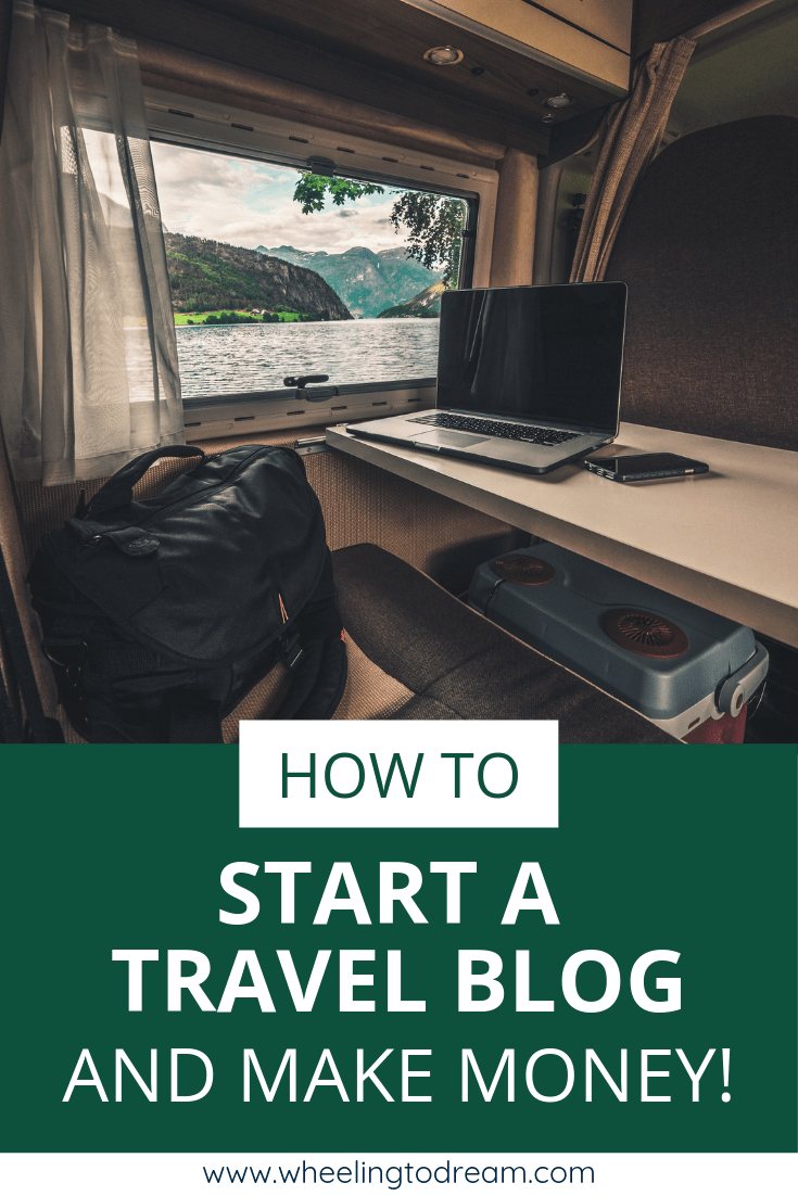 How to start a travel blog and make money online blogging. Learn how to make money traveling so you can fund your travel journey.