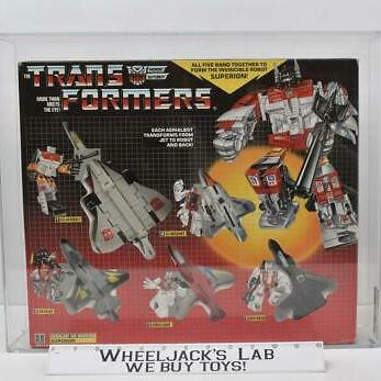 AFA Graded Hasbro 1986 Transformers Superion