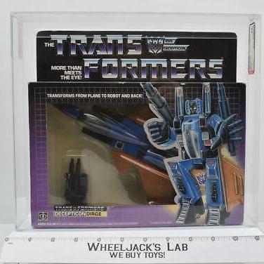 AFA Graded 1985 Transformers Dirge