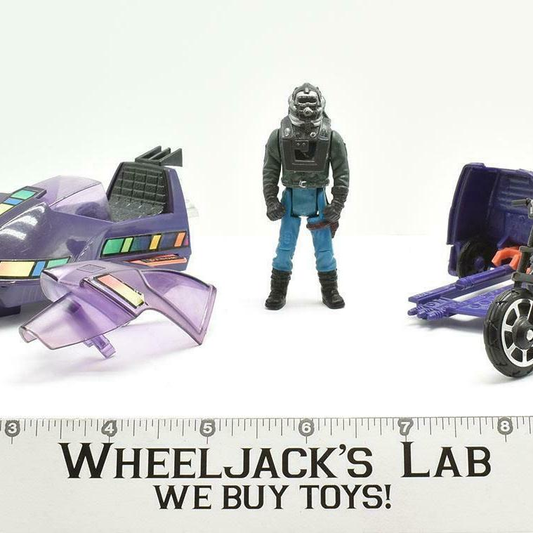 Kenner 1986 M.A.S.K. Piranaha with Sly Rax