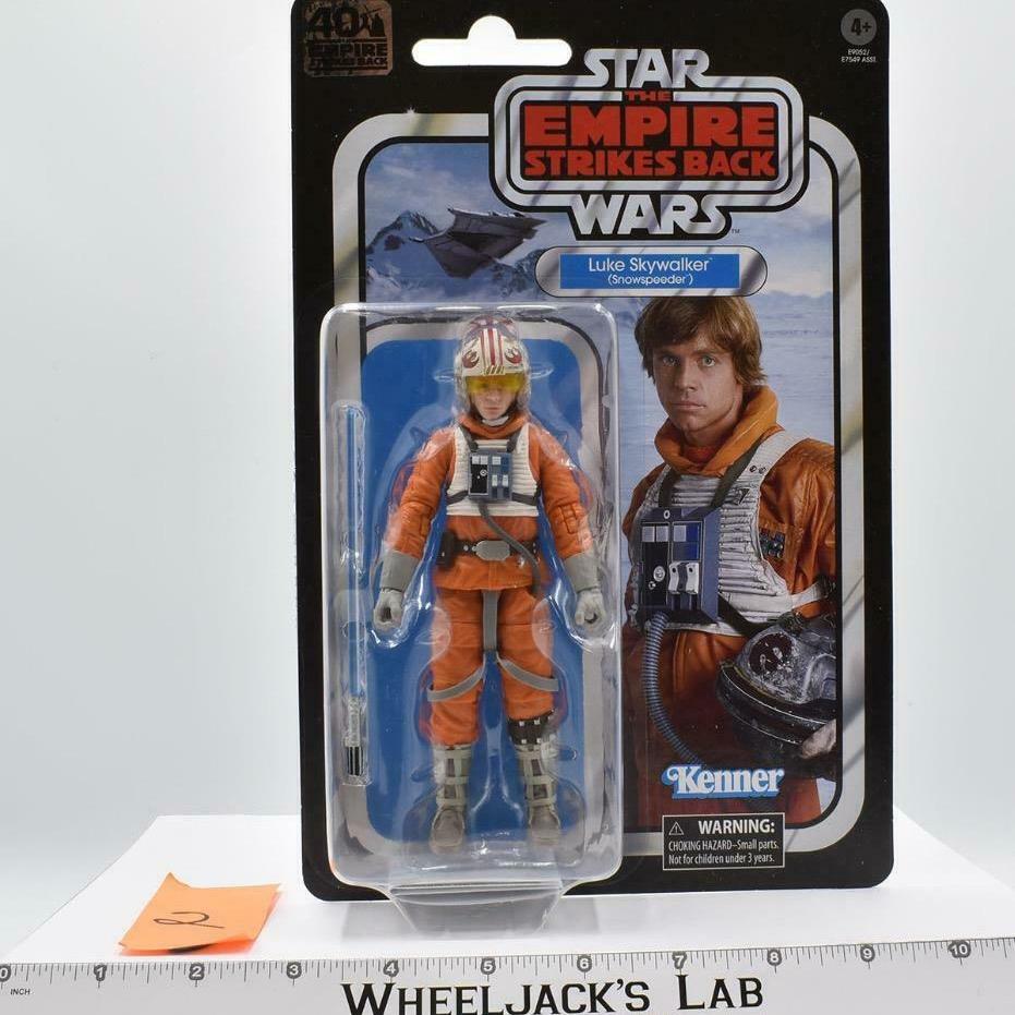 Hasbro 2020 Star Wars Black Luke Skywalker