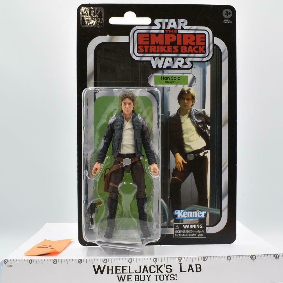 Hasbro 2019 Star Wars Black Series Han Solo Bespin