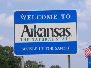 USA Welcome signs - Arkansas
