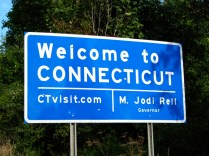 USA Welcome signs - Connecticut 2