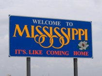 USA Welcome signs - Mississippi