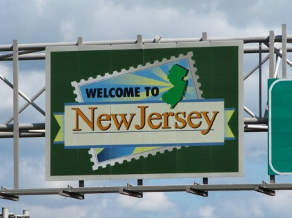 USA Welcome signs - New Jersey