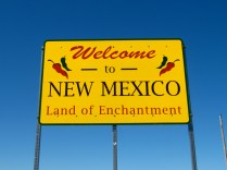 USA Welcome signs - New Mexico