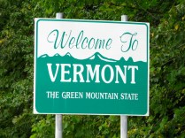 USA Welcome signs - Vermont