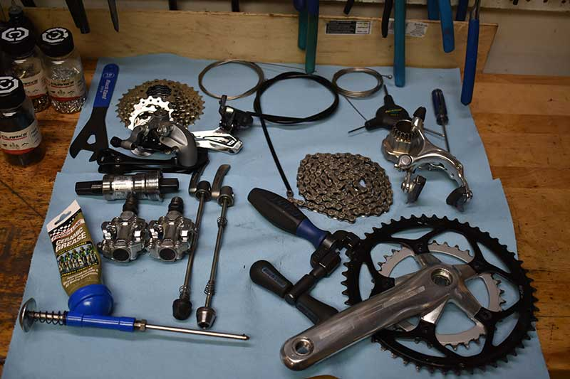 Wheel Nuts Bike Shop performance overhaul